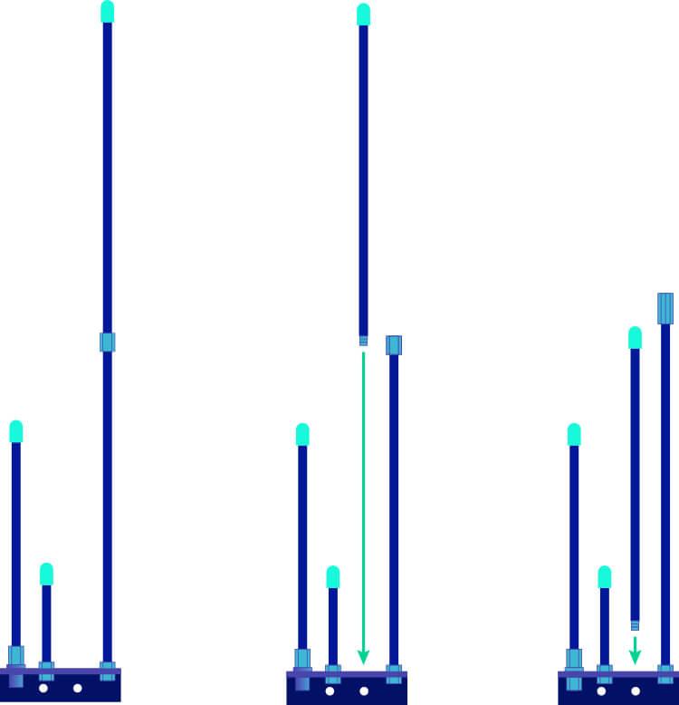 Base Station J Pole Antenna