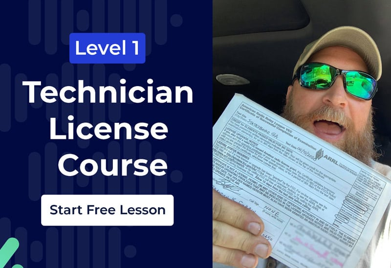 Level 1: Technician License Free Lesson