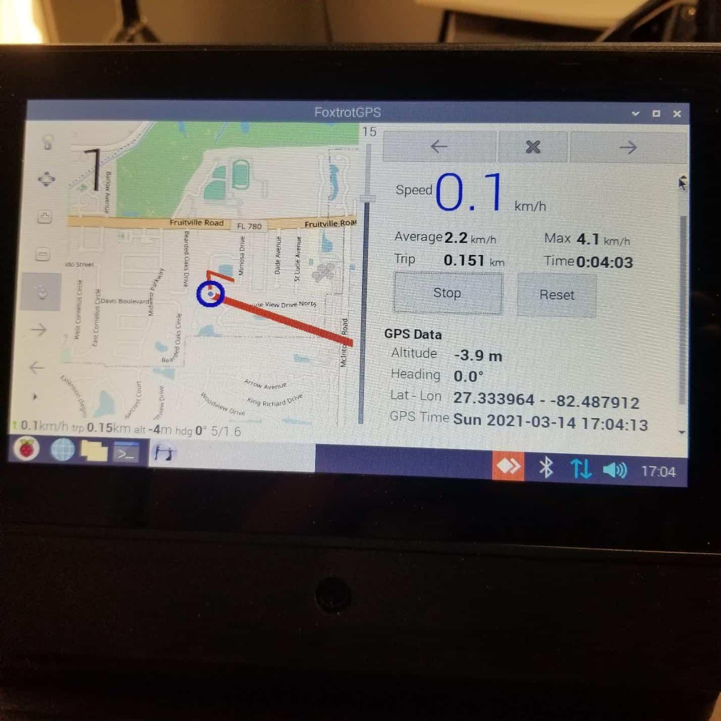 Foxtrot GPS program